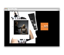 artLAB Salon<br />Website Design