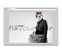 Luxelab Salon<br />Website