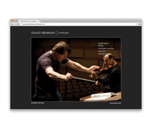 David Newman Composer<br>Website
