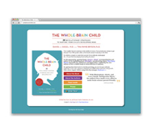 The Whole-Brain Child<br>Website