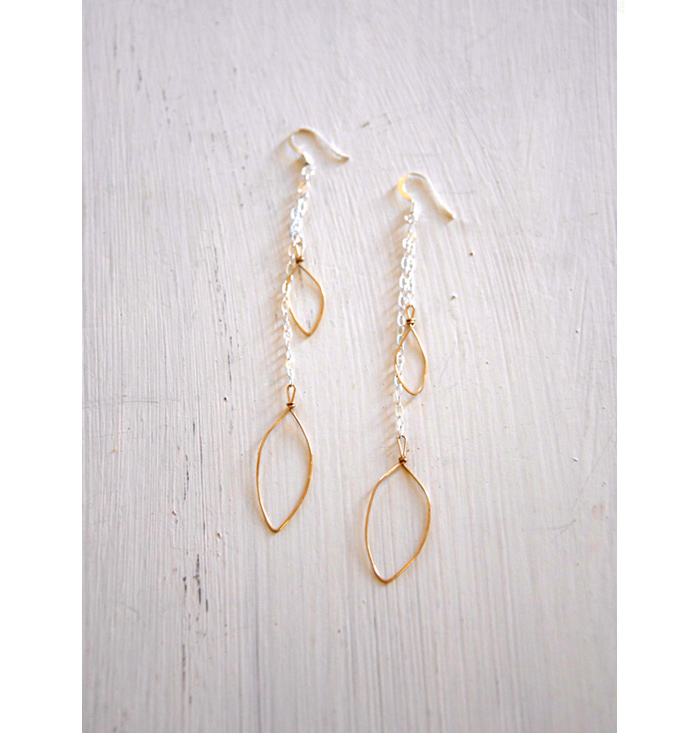 Altita Jewelry –<br>Hammered Gold