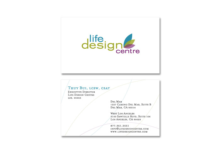 Life Design Centre<br>Print Collateral