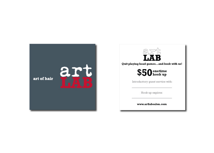 Artlab Salon<br>Print Collateral +<br>Environmental