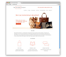 Catrinka Project<br />Sustainable Handbags Website