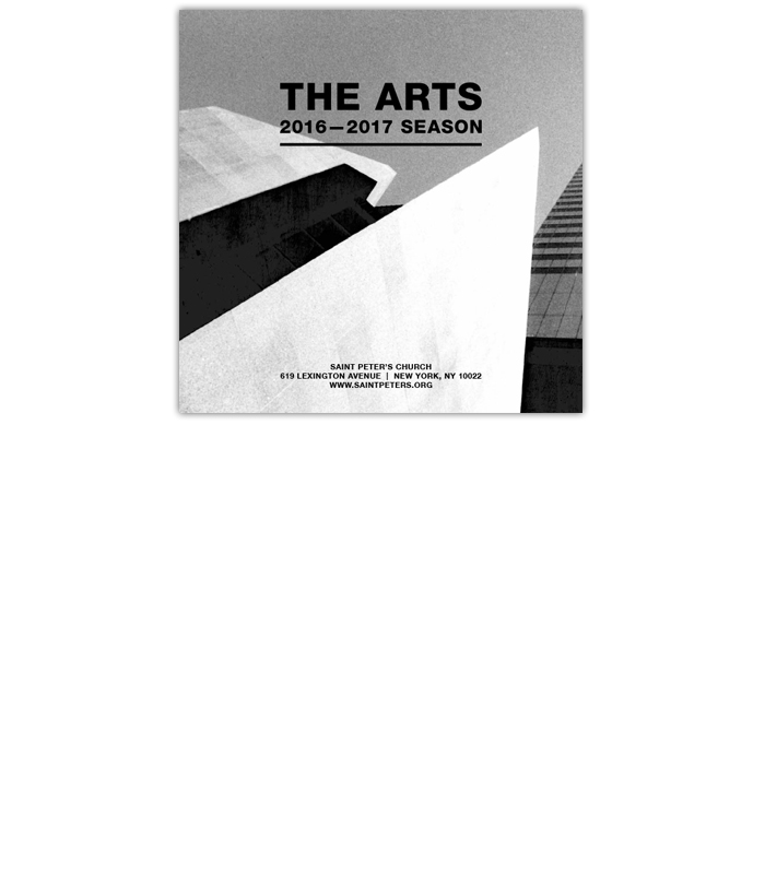 Saint Peter&#8217;s Church <br>Arts Brochure <br>2016-2017 Season