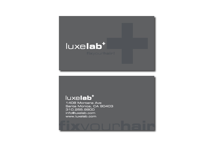Luxelab<br>Logo + Print Collateral