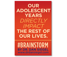Brainstorm<br> by Dr. Dan Siegel<br> Social Sharing