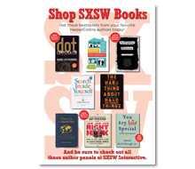 SXSW HarperCollins<br> Author Panels<br> Poster