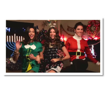 Rebecca Minkoff<br>Holiday Video Card<br>Set Dressing
