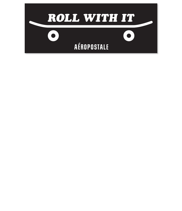 Aéropostale <br>International Marketing <br>Totebags + Stickers